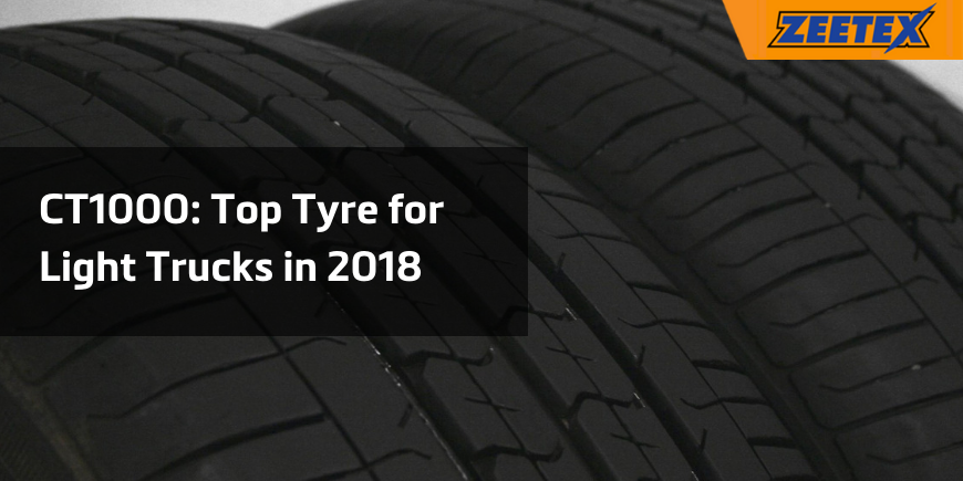 CT1000: Top Tyres for Light Trucks in 2018