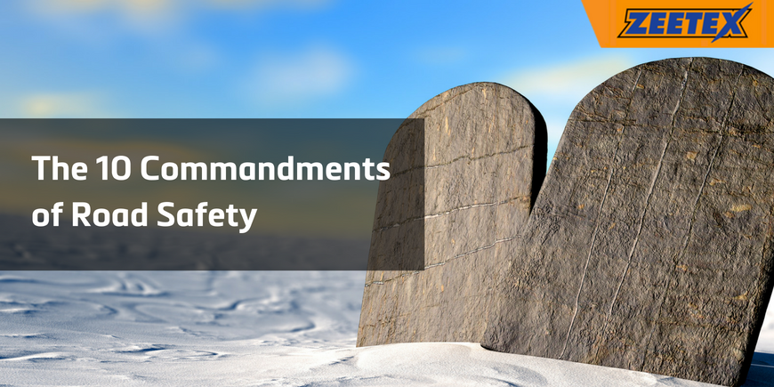 The 10 Commandments of Road Safety