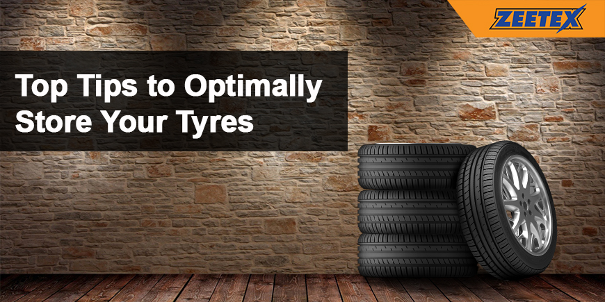 Top Tips to Optimally Store Your Tyres