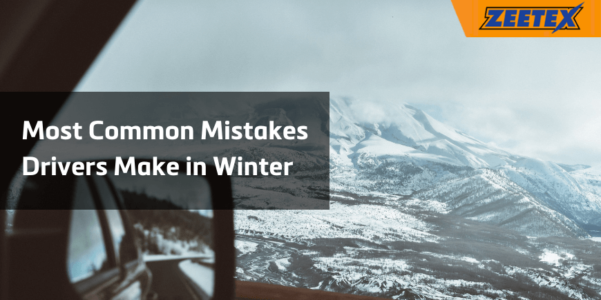 The Most Common Mistakes Drivers Make in Winter